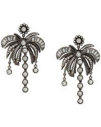N°21 - Palm Tree Earring - Lyst