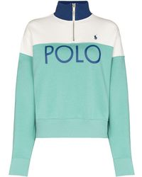 Polo Ralph Lauren ジップアップ スウェットシャツ - グリーン