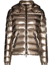 Moncler Metallic Puffa Jacket