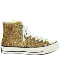 Converse X Converse Chuck Taylor High-top Sneakers - Metallic