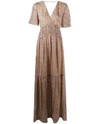 Ba&sh カットアウト ドレス - マルチカラー