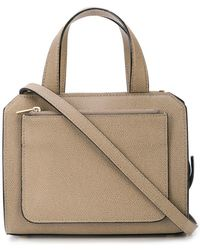 Valextra - Top Handle Satchel Bag - Lyst