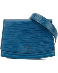Louis Vuitton プレオウンド Tilsitt ベルトバッグ - ブルー