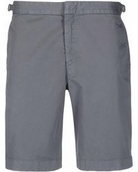 Orlebar Brown Dane Cotton Twill Shorts - Gray