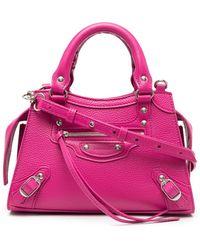 Balenciaga - Neo Classic Mini Top Handle Bag - Lyst