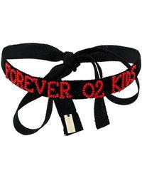 Ann Demeulemeester Blanche - Forever 02 Kids Choker - Lyst