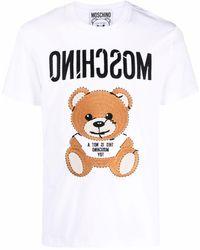 Moschino - Футболка Teddy Bear - Lyst