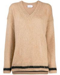 Calvin Klein - Vネック セーター - Lyst