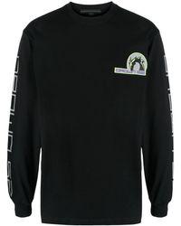 Sankuanz ロゴパッチ スウェットシャツ - ブラック