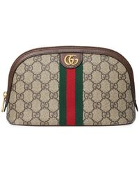 Gucci Large Ophidia Cosmetic Case - Multicolour