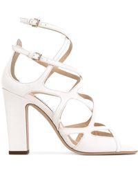 Jimmy Choo Dillan 100 Sandals - White
