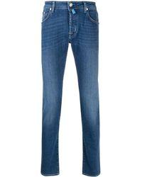 Jacob Cohen Mid-rise Slim Jeans - Blue