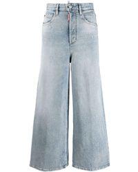 DSquared² Jeans Met Wijde Pijpen - Blauw