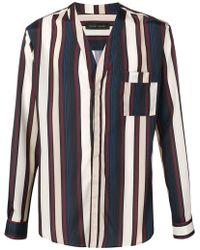 Christian Pellizzari - Striped Kimono Shirt - Lyst