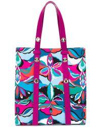 Emilio Pucci - Printed Tote Bag - Lyst