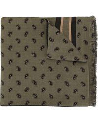 Kent & Curwen Patterned Short Scarf - Multicolour