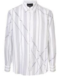 3.1 Phillip Lim Camicia patchwork - Bianco