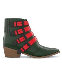 Toga Aj006 Boots - Red