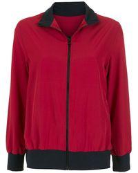 Lygia & Nanny Steffi Zipped Track Jacket - Red