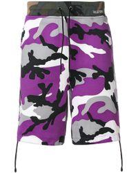 Valentino - Camoushuffle Shorts - Lyst