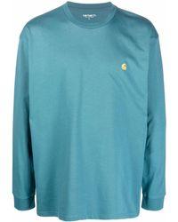 Carhartt WIP ロゴ Tシャツ - グリーン