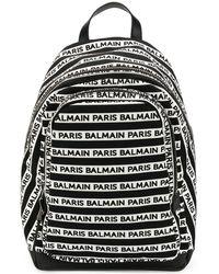 Balmain Petit sac à dos Urban - Blanc