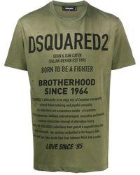 DSquared² - Logo print T-shirt - Lyst