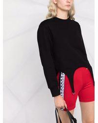 COACH Shorts da ciclismo con stampa - Rosso