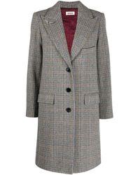 Zadig & Voltaire Mumy Coat - Grey