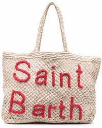 Mc2 Saint Barth Сумка-тоут С Вышитым Логотипом - Многоцветный