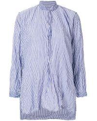 Daniela Gregis - Striped Shirt - Lyst