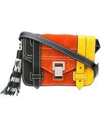 Proenza Schouler Mini sac à bandoulière PS1 - Noir