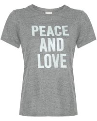 Cinq À Sept - Peace And Love Tシャツ - Lyst