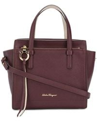 Ferragamo - Mini Tote Bag - Lyst