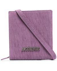 Jacquemus Le Gadjo Pouch Shoulder Bag - Purple