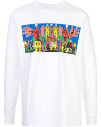 Supreme T-shirt Gilbert & George - Blanc