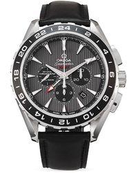 Omega Наручные Часы Seamaster Aqua Terra Pre-owned 44 Мм 2006-го Года - Серый