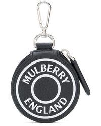 Mulberry ロゴ クラッチバッグ - ブラック