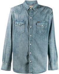 Polo Ralph Lauren Chemise d'inspiration western en denim - Bleu