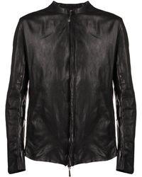 Masnada ジップジャケット - ブラック