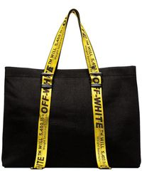 458741e170 Off-White c/o Virgil Abloh - Black Canvas Tote - Lyst