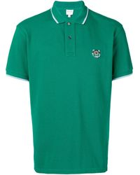 KENZO タイガー ポロシャツ - グリーン