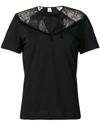 753394a890d5 Lyst - Pinko Tridente T-shirt in Black