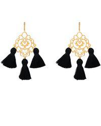 Marte Frisnes - Rita Tassel Earrings - Lyst