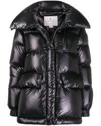 Woolrich キルティング パデッドジャケット - ブラック
