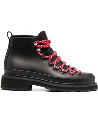 Rag & Bone Ботинки С Контрастной Шнуровкой - Черный