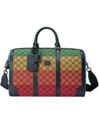 Gucci Canvas-Reisetasche aus GG Supreme - Gelb