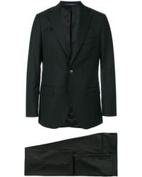 Fashion Clinic Single Breasted Suit - Black