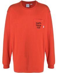 Vans Waffle Lovers' Club Tシャツ - オレンジ