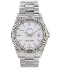 Rolex - Наручные Часы Datejust Pre-owned 36 Мм 2003-го Года - Lyst